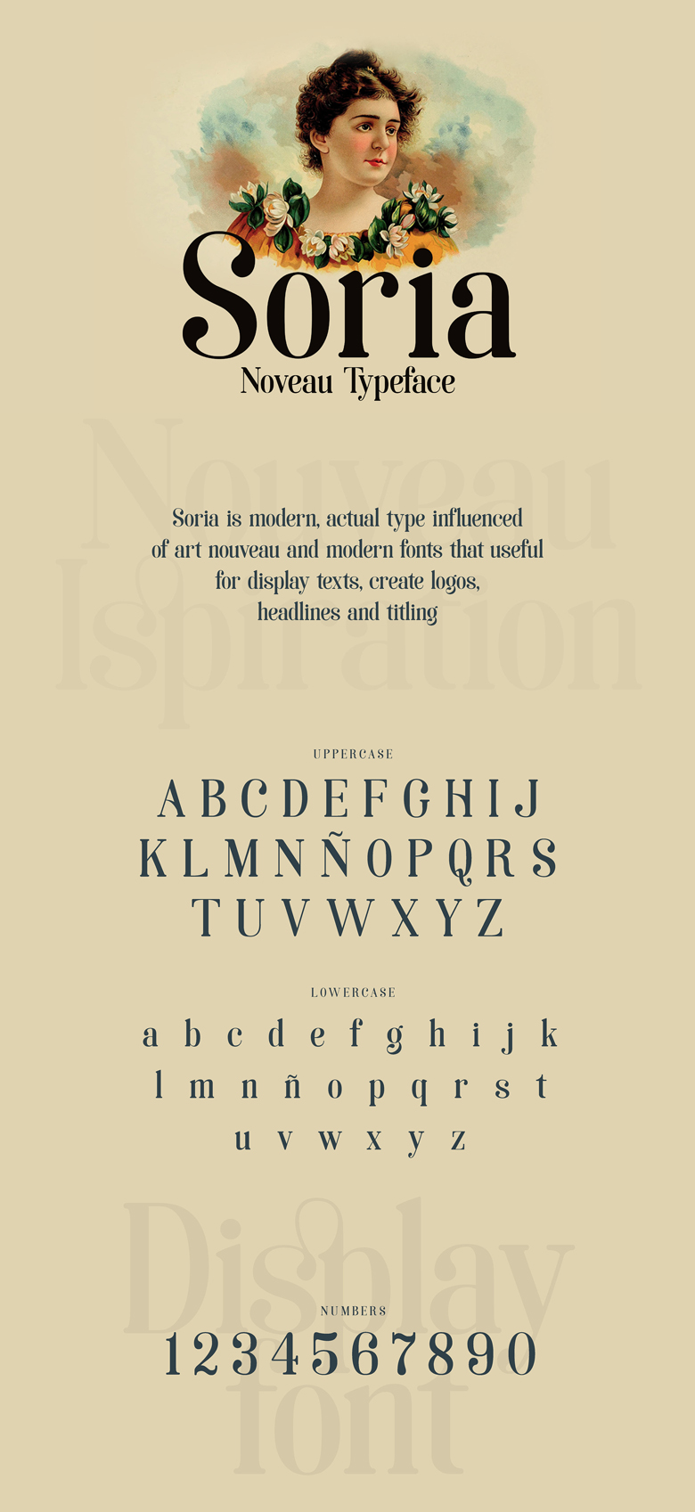Beautiful free fonts for designers - Soria