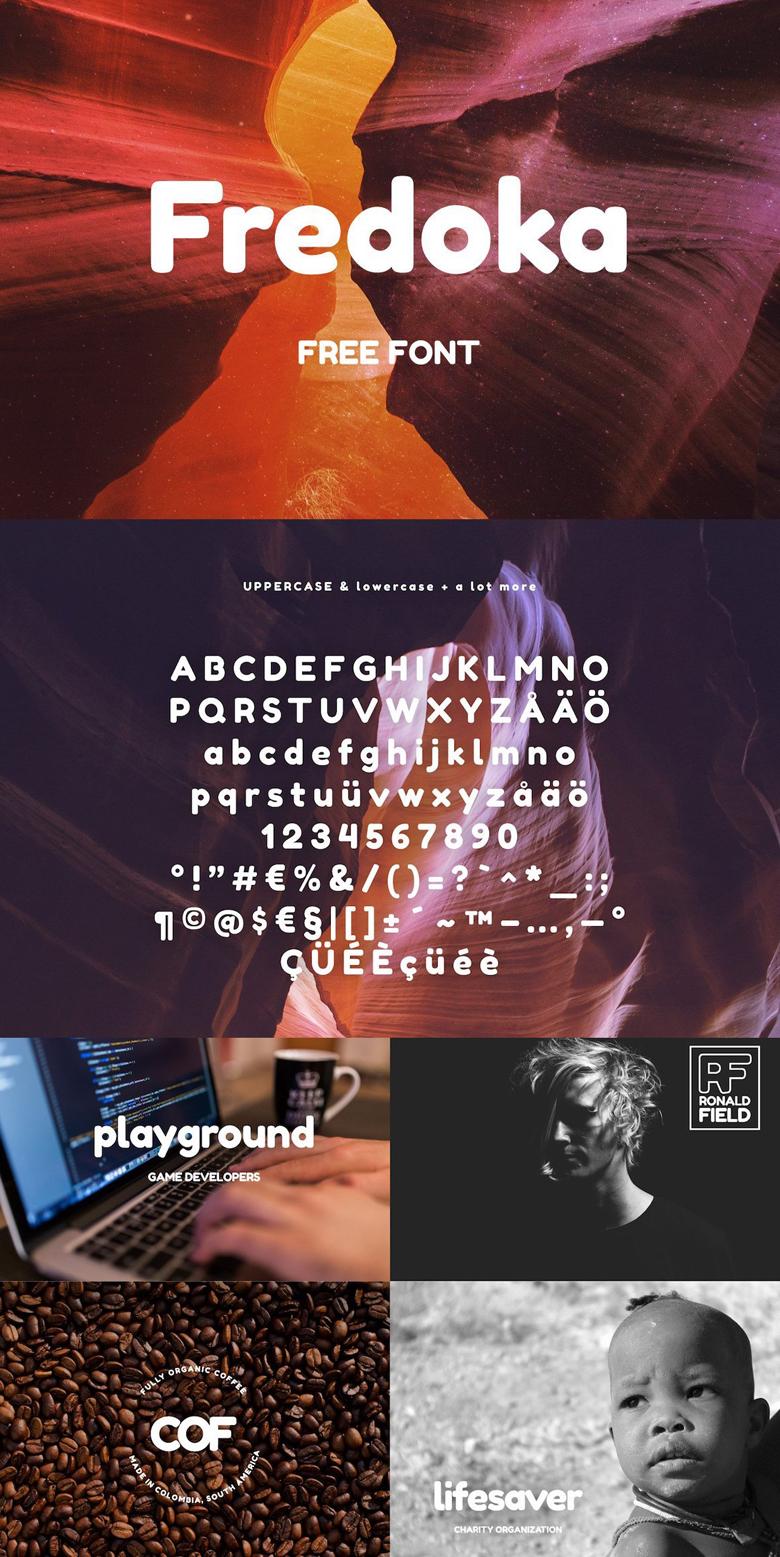 Beautiful free fonts for designers - Fredoka