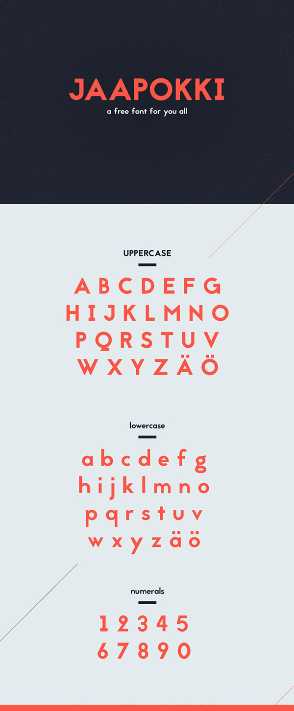 Beautiful free fonts for designers - Jaapokki