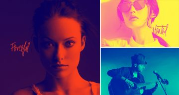 Convert Any Image Into A Stylish Duotone With These 7 Free Photoshop Actions