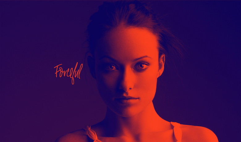 Free Duotone Photoshop Actions - Forceful