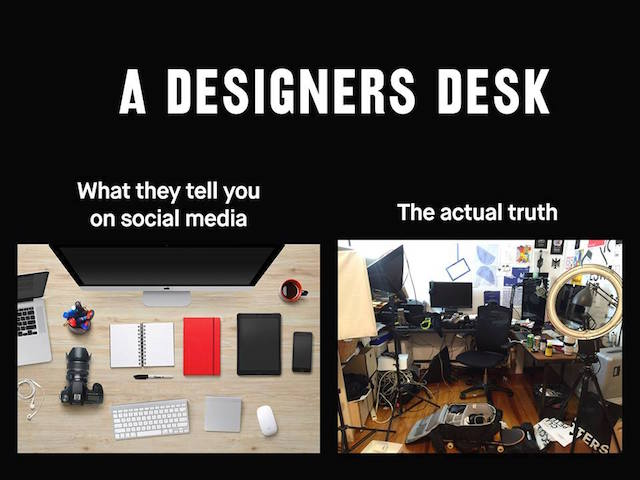 Designer's Desk - Social Media vs Truth