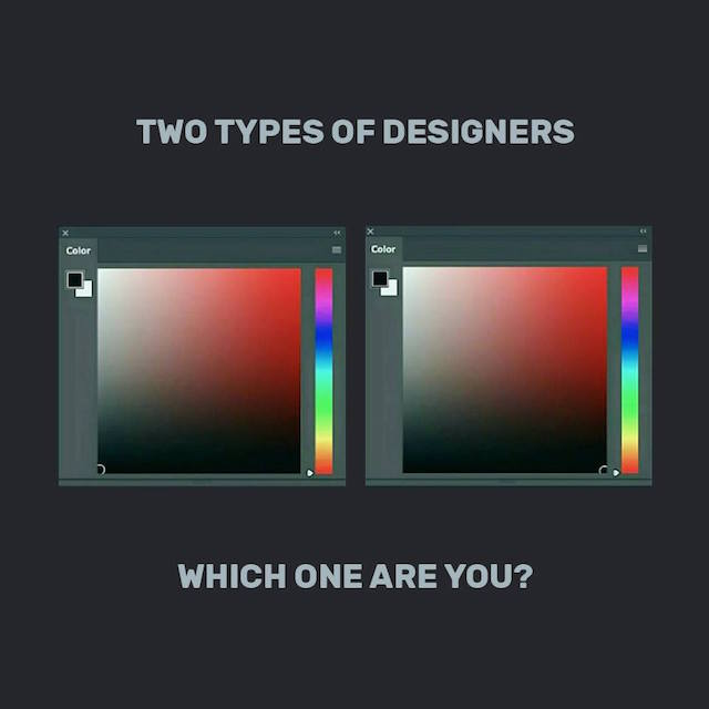 Two types of designers, which one are you?