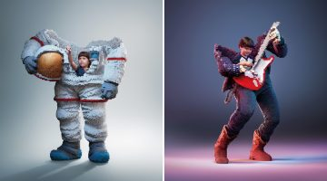 Kids Build Sculptures Of Their Dream Careers In These Award-Winning Ads From LEGO