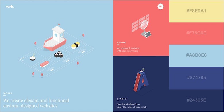 29 Beautiful Color Schemes From Award Winning Websites