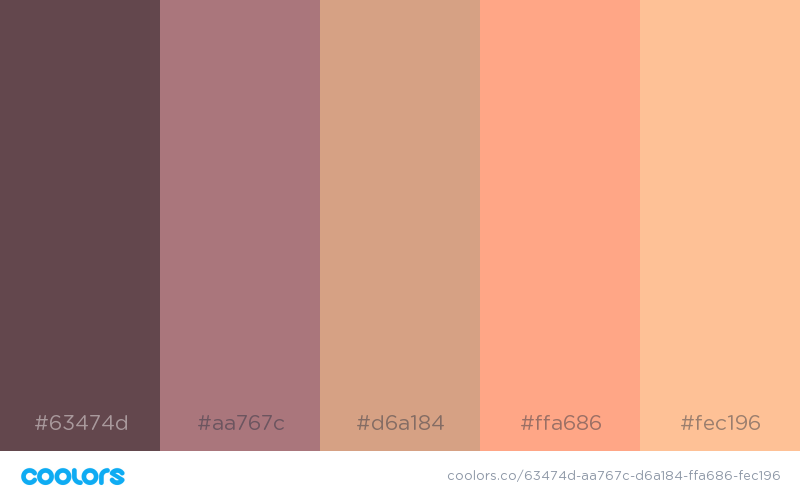 Beautiful color schemes, combinations and palettes - 24