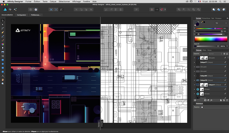 Colorful architecture skyline and cityscape illustrations - Affinity Designer 3 (2)