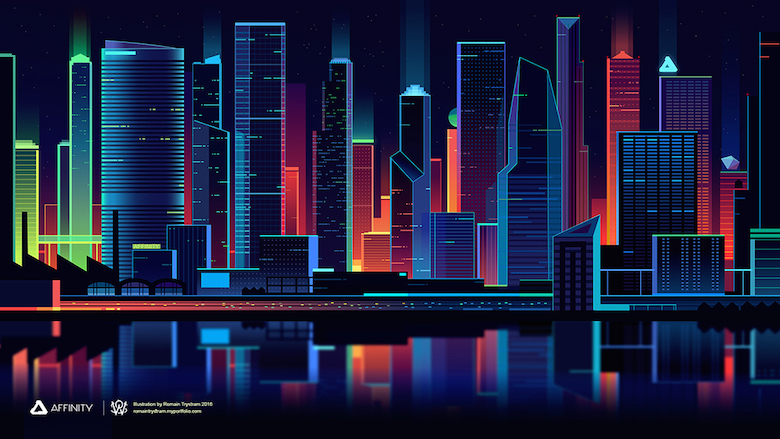 Colorful architecture skyline and cityscape illustrations - Affinity Designer 2 (1)