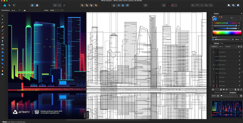 Colorful architecture skyline and cityscape illustrations - Affinity Designer 2 (4)