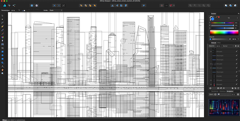 Colorful architecture skyline and cityscape illustrations - Affinity Designer 2 (5)