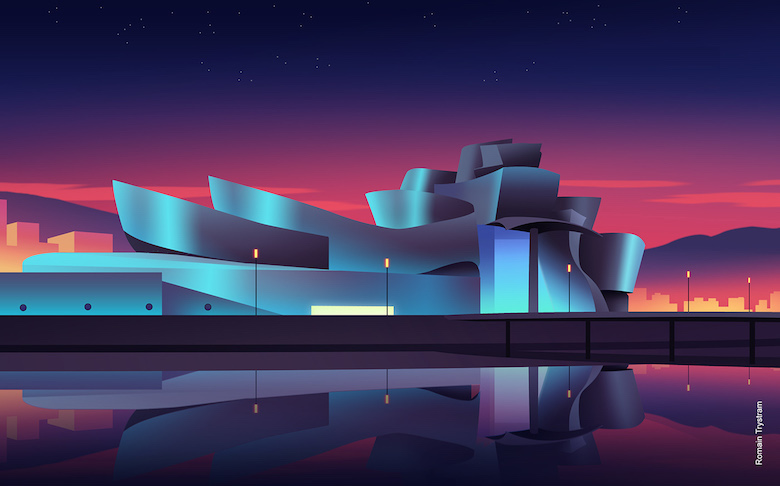 Colorful architecture skyline and cityscape illustrations - ILikeArchitecture.net 7