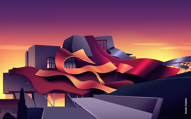 Colorful architecture skyline and cityscape illustrations - ILikeArchitecture.net 8