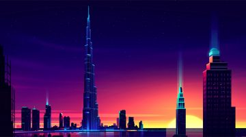 colorful-architecture-skyline-cityscape-illustrations