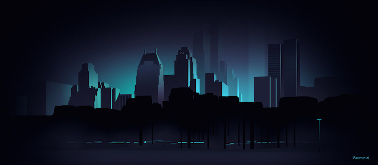 Colorful architecture skyline and cityscape illustrations - Various 17
