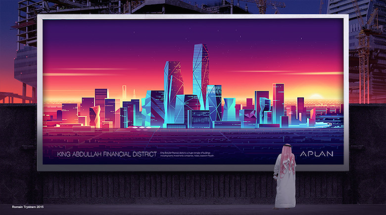 Colorful architecture skyline and cityscape illustrations - Various 19