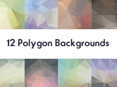Free HD Backgrounds & Textures: Blurred, Geometric, Polygon - 12