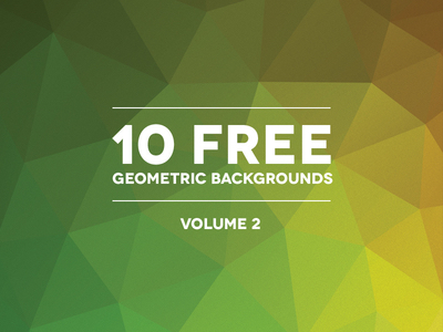 Free HD Backgrounds & Textures: Blurred, Geometric, Polygon - 8