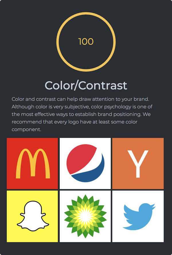 Logo Rank - Color/Contrast