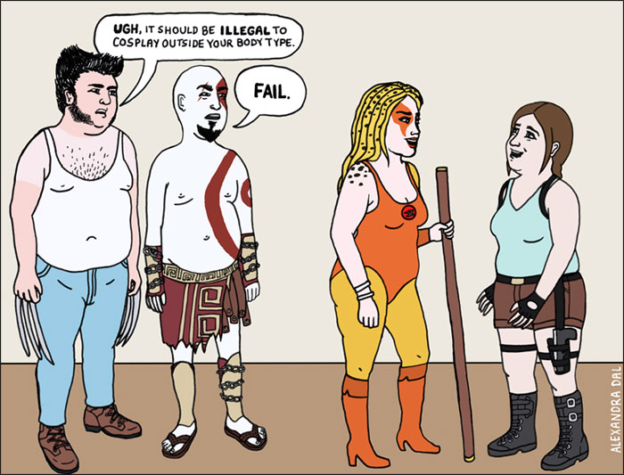 Brilliant Illustrations That Expose The Double Standards In Our Society - 15