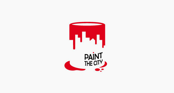 Creative logo designs that use negative space - Paint The City