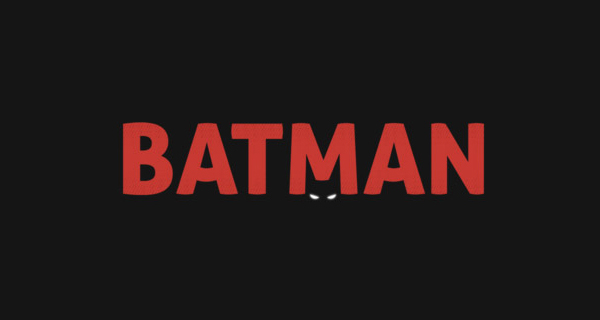 Creative logo designs that use negative space - Batman