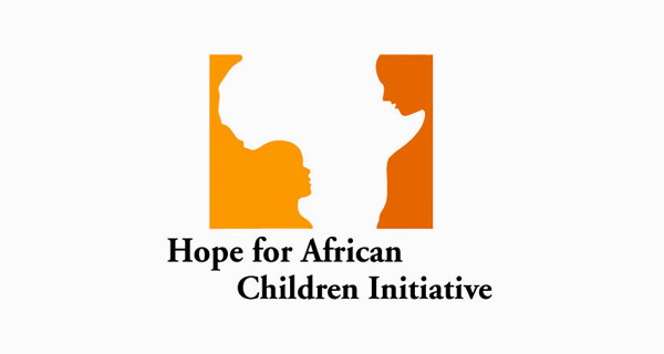 Creative logo designs that use negative space - Hope for African Children Initiative