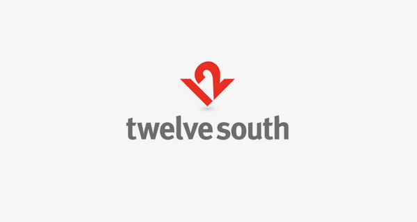 Creative logo design using numbers and digits - Twelve South
