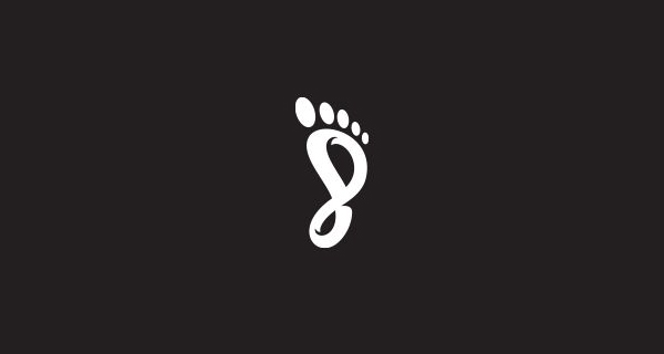 Creative logo design using numbers and digits - EightFoot