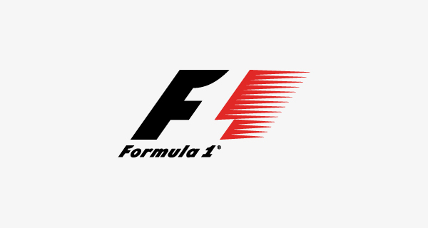 Creative logo design using numbers and digits - Formula One