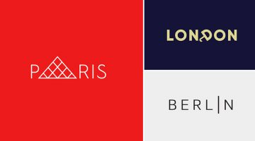 Clever, Minimal Typographic Logos Of Cities