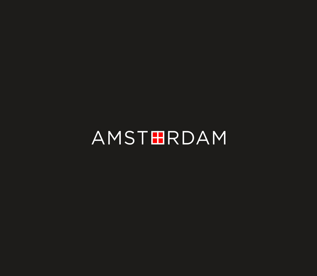 Clever, Minimal Typographic Logos Of Cities - Amsterdam
