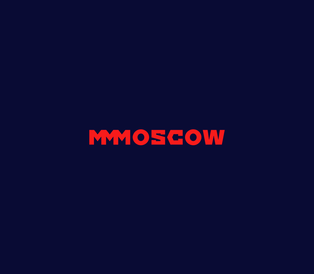 Clever, Minimal Typographic Logos Of Cities - Moscow