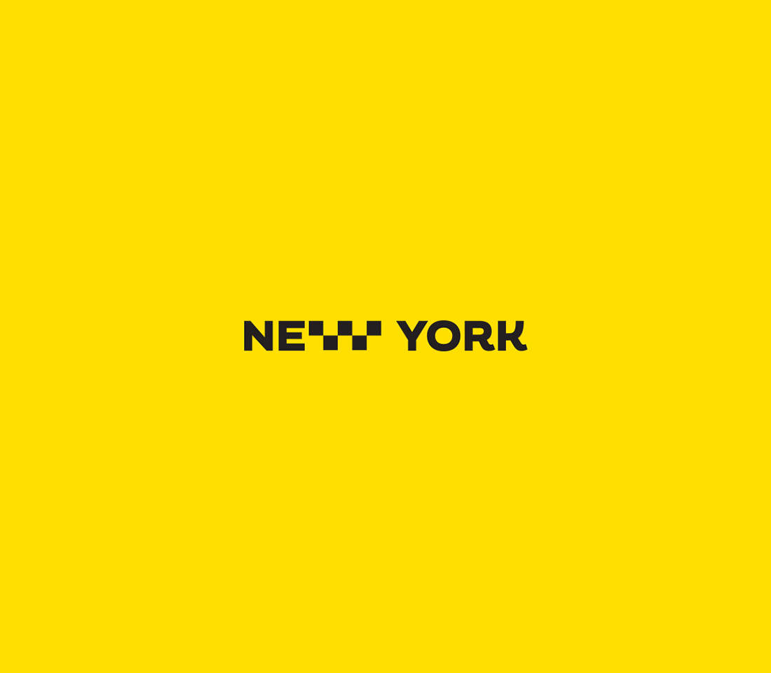 Clever, Minimal Typographic Logos Of Cities - New York