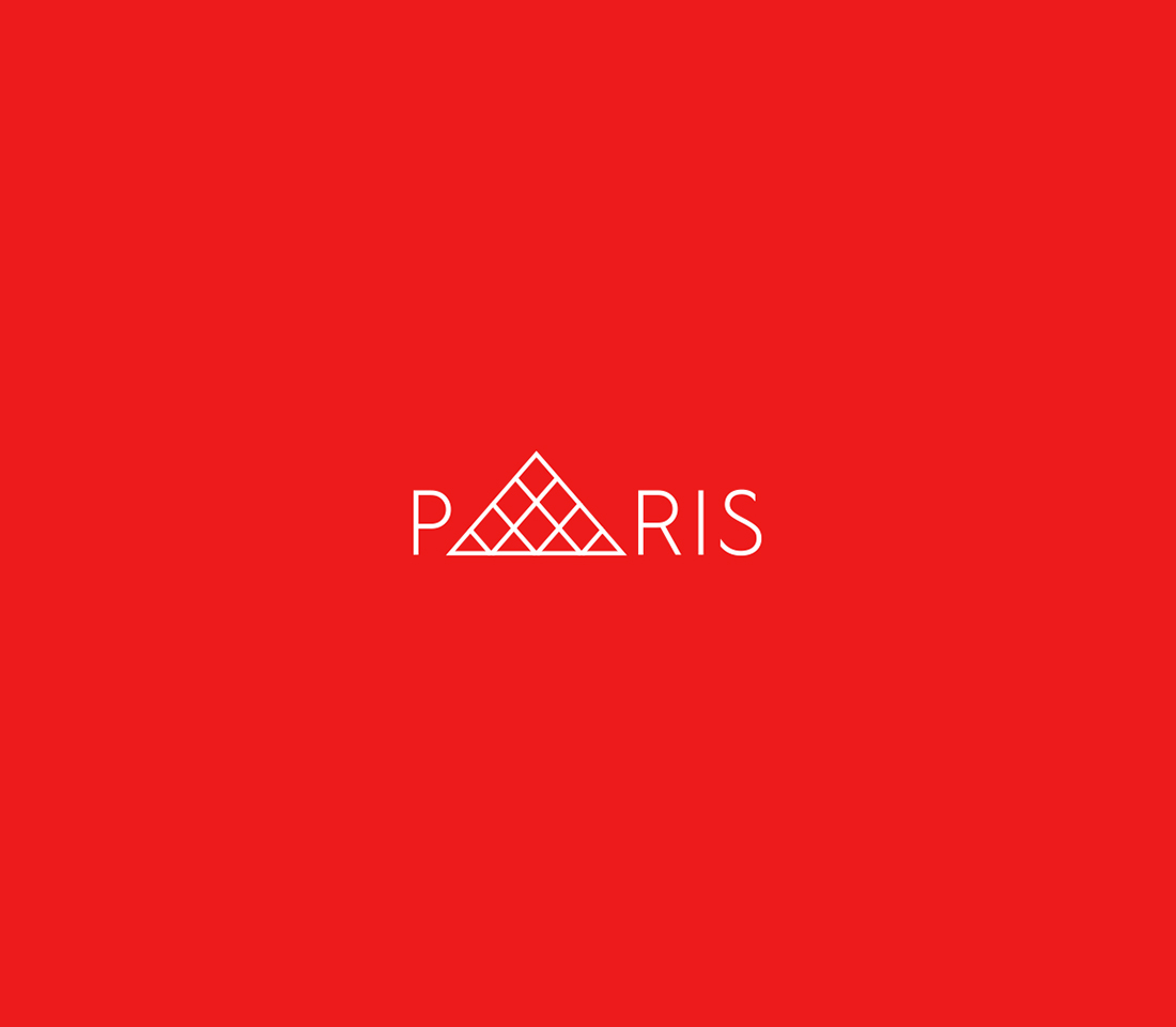 Clever, Minimal Typographic Logos Of Cities - Paris