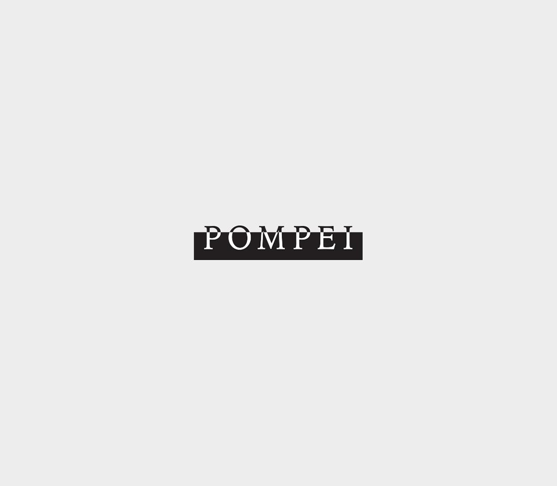 Clever, Minimal Typographic Logos Of Cities - Pompei