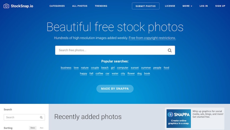 Free stock photos - StockSnap.io