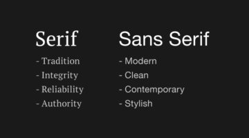 How To Choose The Right Font For Your Brand