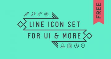 Free Minimal Line Icons For UI, Web And Mobile Design