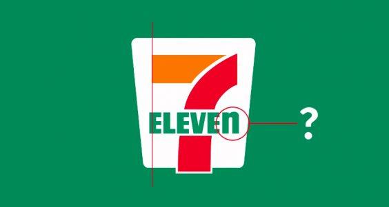 Designer Brilliantly Explains Why 7-Eleven's Symmetrically Flawed Logo Is Not A Design Error