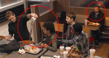 Brilliant Social Experiment By Burger King Shows How People React When They See Someone Being Bullied