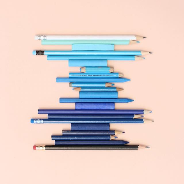 Beautiful photos of color gradients in everyday objects - 15