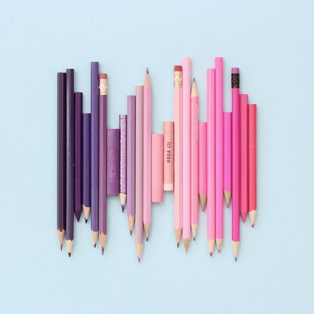 Beautiful photos of color gradients in everyday objects - 4