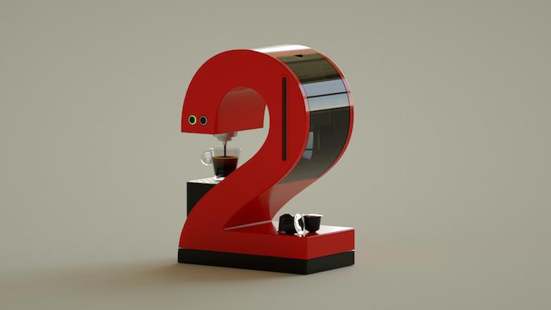 Alphabet Letters Designed As Electronic Gadgets - 2