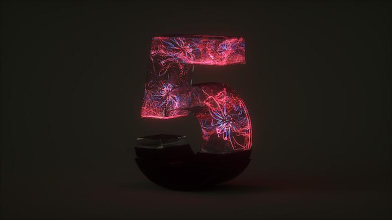 Alphabet Letters Designed As Electronic Gadgets - 5