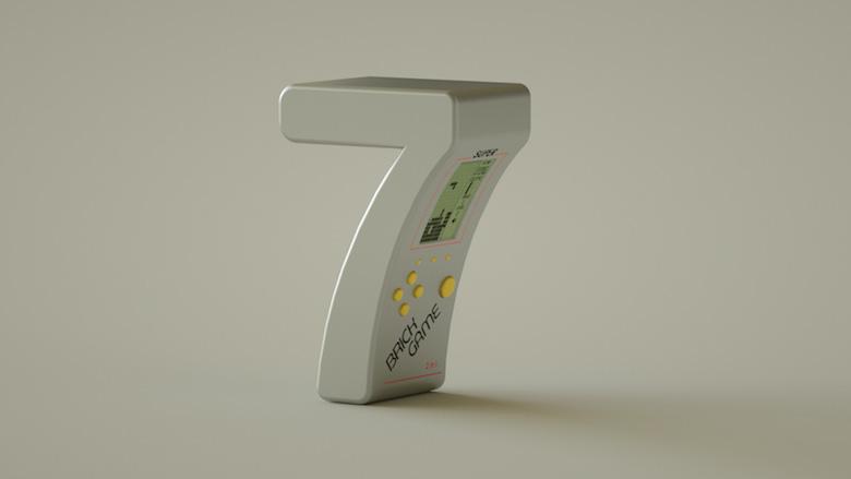 Alphabet Letters Designed As Electronic Gadgets - 7
