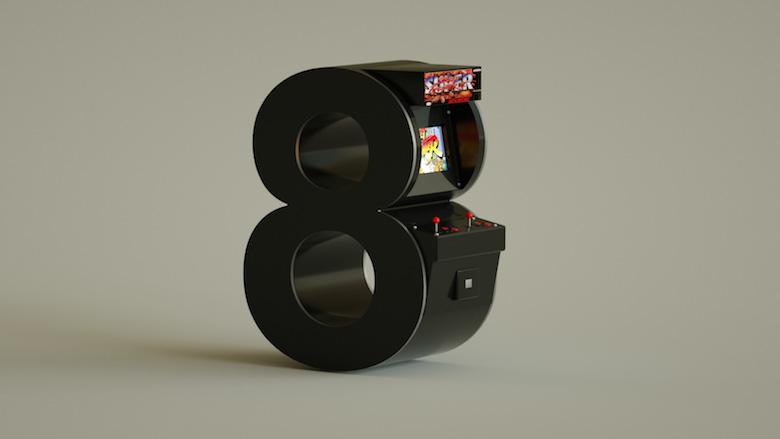 Alphabet Letters Designed As Electronic Gadgets - 8