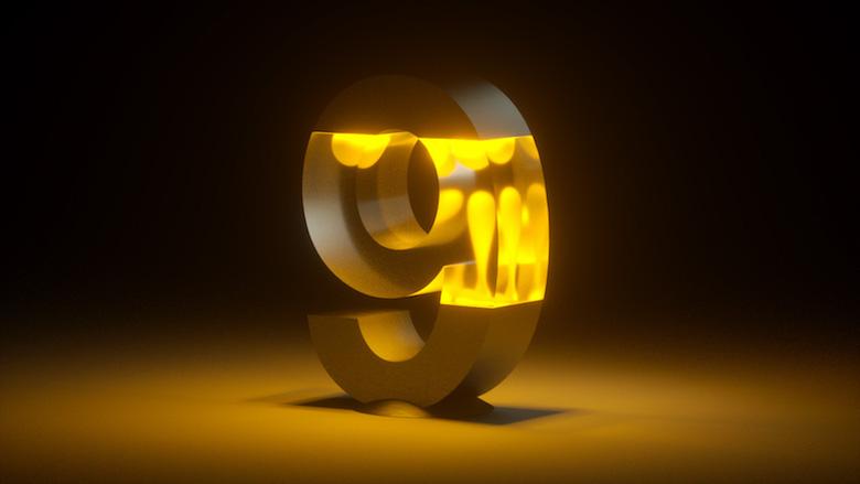 Alphabet Letters Designed As Electronic Gadgets - 9