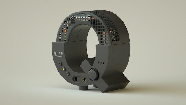 Alphabet Letters Designed As Electronic Gadgets - Q