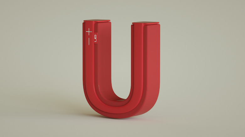 Alphabet Letters Designed As Electronic Gadgets - U