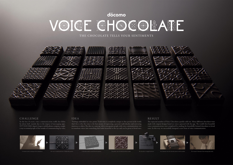 NTT Docomo - Voice Chocolate